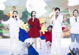 蔡徐坤佟丽娅献唱冬奥推广曲 助力志愿者招募