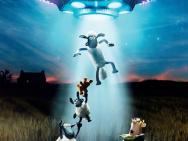 《小羊肖恩2》天降新客 萌新外星人形象曝光