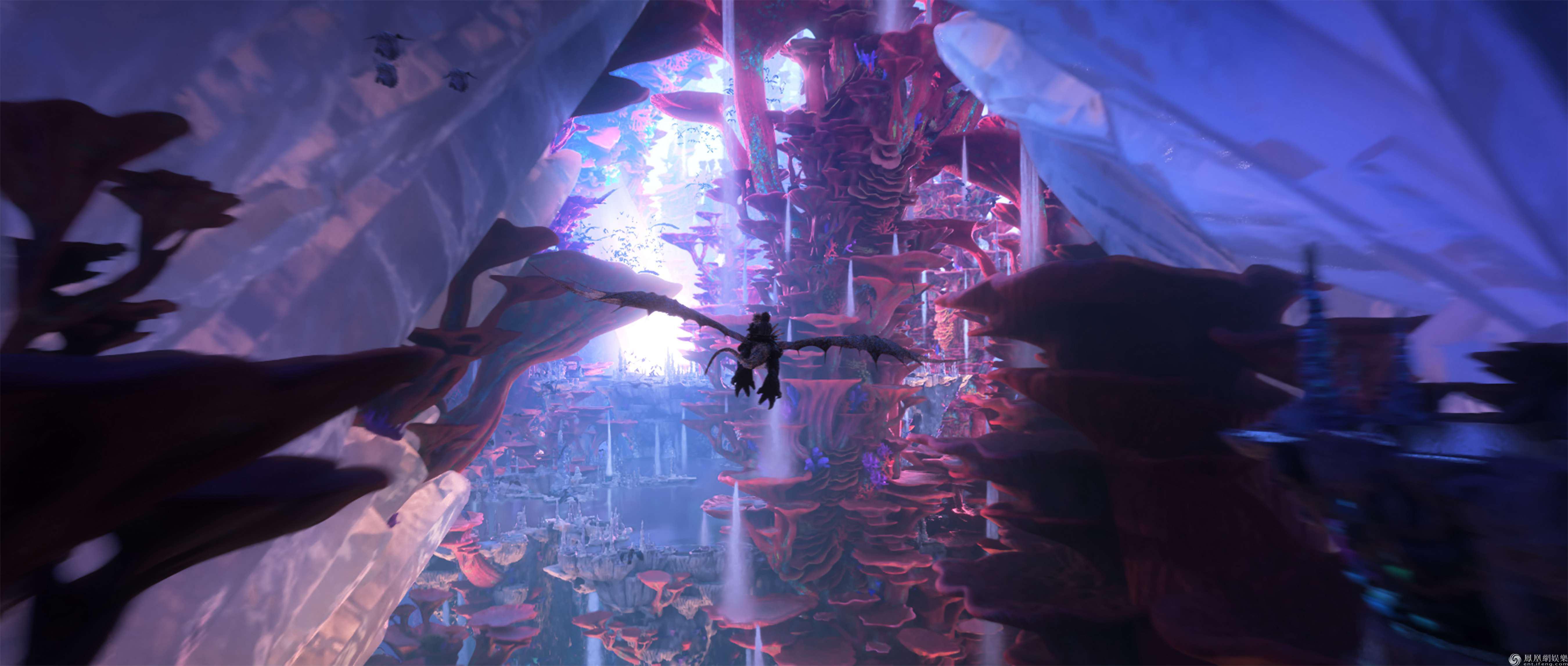 《驯龙高手3》票房问鼎北美首周末冠军 获封系列