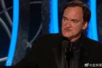 《好莱坞往事》获金球奖最佳剧本 昆汀宣布当爸