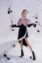 迪丽热巴解锁少女感脏辫造型 展现摩登浪漫新风格