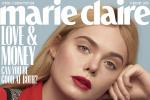 艾丽·范宁登封时尚杂志 甜美小仙女变成摩登女郎