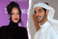 蕾哈娜被曝与阿拉伯富商男友分手 10月刚官宣恋情