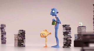 小男孩不想上学,每次背书包就像戴手铐,一部高分动画短片
