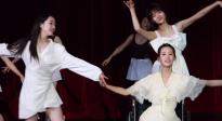 蒋梦婕、陈都灵、任敏同框起舞 隔屏都能感觉到仙气飘飘