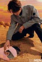 朱正廷西服套装登时尚杂志 演绎少年的温柔与坚韧