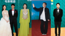海南岛电影节红毯星光熠熠 成龙章子怡佟丽娅亮相
