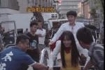 《唐人街探案3》曝花絮 程潇变身车夫吓坏刘昊然