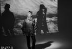 2月10日,导演路阳为《时尚芭莎》三月刊拍摄的时尚写真曝光。多变大片,展现平行世界,现实虚幻,重叠交错。