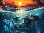 电影《哥斯拉大战金刚》确认引进 金刚迎战哥斯拉