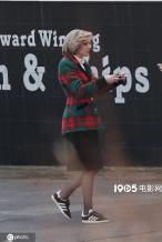 戴妃传记片《斯宾塞》德国热拍 曝斯图尔特片场照