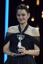 玛丽昂·歌迪亚获颁圣塞巴斯蒂安电影节终身成就奖