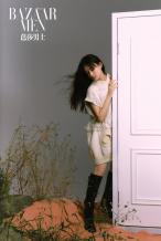演员孟子义粉沙梦幻写真曝光 演绎独特多重风格