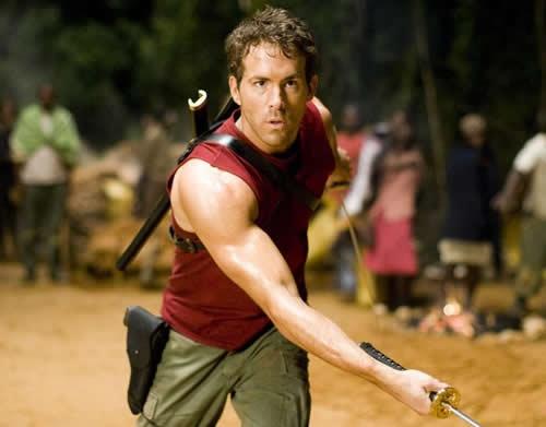 《x战警:金刚狼》里面瑞安·雷诺兹扮演的死侍