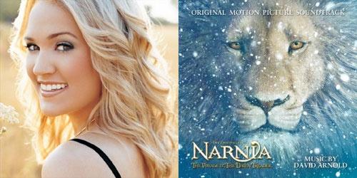 美偶冠军安德伍德将演唱 纳尼亚传奇3 主题歌