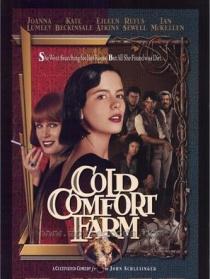 寒冷舒适的农庄