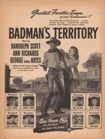 巴特曼的领土