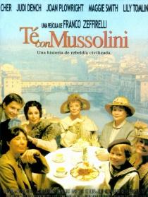与墨索里尼喝茶