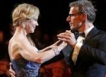 第67届戛纳电影节开幕现场 妮可与主持人跳舞助兴