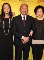 吴宇森携女助阵中国电影之夜 中外影人齐聚一堂