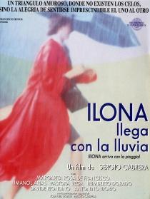 伊莲娜在雨中到达