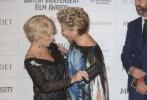 当地时间12月7日,第17届英国独立电影奖公布获奖名单,根据英国真实历史改编的同志电影《骄傲》击败《模仿游戏》,获得最佳英国独立电影,还包揽了最佳男配角、最佳女配角两项大奖。而最佳男主角的获得者不是热门的本尼迪克特·康伯巴奇与蒂莫西·斯波,爱尔兰男星布莱丹·格里森凭《神父有难》获得了这一荣誉,最佳女主角得主则是《佳人蓓尔》主演古古·玛芭塔劳。