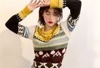 阚清子为时尚杂志拍摄了一组风格多变的大片。
