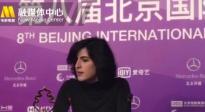 北影节闭幕式后台采访 《惊慌妈妈》导演表示没想到会获奖