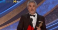 《罗马》获最佳外语片 阿方索·卡隆:我是不是也有字幕?