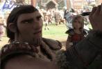 """动作冒险动画电影《驯龙高手3》将于3月1日本周五与内地观众正式见面,电影上映前夕,片方发布""""史诗之战""""预告,伴随紧张刺激的鼓点,磅礴壮观的人龙战争画面跃然眼前,一段硝烟弥漫、声势浩大的史诗之战蓄势待发。"""