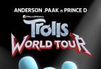 《魔发精灵》续集《魔发精灵2:世界之旅》曝光21张角色海报,精灵们举起摇滚的小手,即将踏上一段刺激的摇滚音乐之旅。贾老板和安娜·肯德里克回归,同时配音阵容还有新卡司加入。