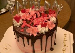 甜到心里去了! 郭碧婷亲手做生日蛋糕感动向佐
