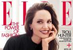 8月5日,安吉丽娜·朱莉登封美版《ELLE》金九刊大片释出。