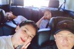 刘涛一家四口暑假幸福出游 一双儿女高颜值获赞!