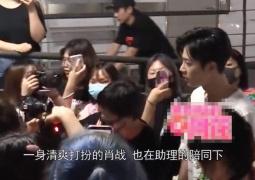 今夏男女朋友合体拍新剧 杨紫肖战早出晚归被围堵