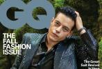 近日,奥斯卡最佳男演员拉米·马雷克登封美版《GQ》封面,成为金九月刊封面人物。