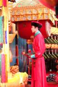 蔡徐坤古装造型初亮相 穿清朝服饰极具视觉冲击力