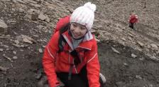 """""""行走的力量""""倪妮翻越海拔4920米垭口,恐高到腿发软仍不放弃"""