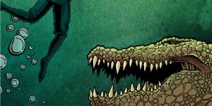 肉搏巨鳄绝地反击!《巨鳄风暴》曝致命倒数预告