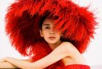 9月12日,Angelababy为《嘉人marie claire》拍摄的十月刊封面大片释出。