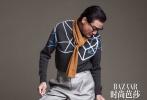 9月17日,梁家辉为《时尚芭莎》拍摄的一组时尚写真发布。梁家辉着风衣和西装演绎金秋成熟男人的穿搭风尚,搭配金丝边眼镜显儒雅,风度翩翩十分有气质。