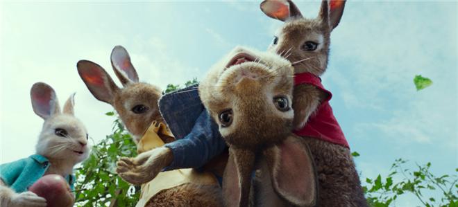 真人CG电影《比得兔2》宣布改档 原主创集体回归