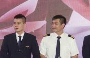 《中国机长》万米高空首映  众主创向英雄楷模致敬
