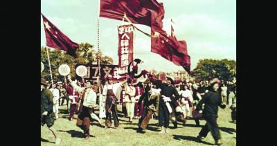 尘封近70年,国宝级影像《解放了的中国》重映