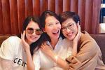 洪欣返港為蔡少芬慶生 張丹峰購物後回老婆豪宅