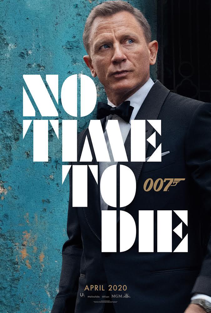 电影《邦德25》曝海报 中文终定名《无暇赴死》