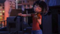 """《雪人奇缘》曝""""小艺天台拉小提琴""""片段"""