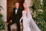 神仙夫婦配一臉!賈斯汀·比伯夫婦婚禮現場照釋出