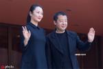 贾樟柯携妻子赵涛亮相罗马电影节 尽显华人风采