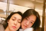 范玮琪晒与小S亲密合照 姐妹俩素颜出镜贴脸拥抱